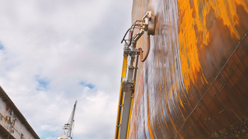 Prepare ships ideally for corrosion protection